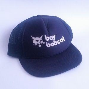 Bay Bobcat Trucker Hat Cap Cats